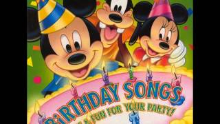 Disney - Happy, Happy Birthday To You