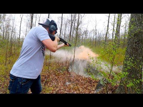 Blowing things up!   Defense Steel Target