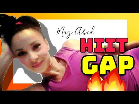 0159★HiiT GAP 01: ESPECIAL quemagrasa abdomen y gluteo!