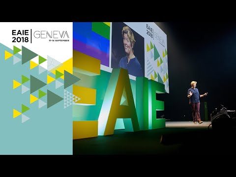 Sally Kohn at EAIE Geneva 2018 - YouTube