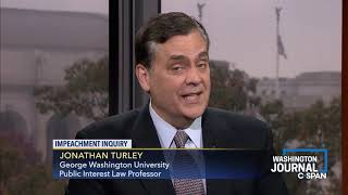 Jonathan Turley on the Impeachment Process
