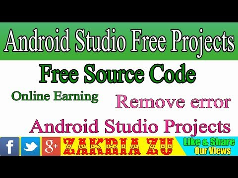 Online Earning in App Remove error Android Studio Projects Provide free Source Code Urdu/Hindi 2019