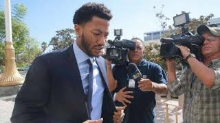DERRICK ROSE APPEARED IN COURT AS WOMAN GIVES TESTIMONY ABOUT ALLEGED RAPE!