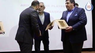 Turgay TANÜLKÜ Söyleşi Sonrası Plaket Töreni