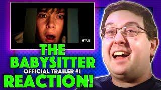 REACTION! The Babysitter Trailer #1 - Netflix Horror Comedy Movie 2017