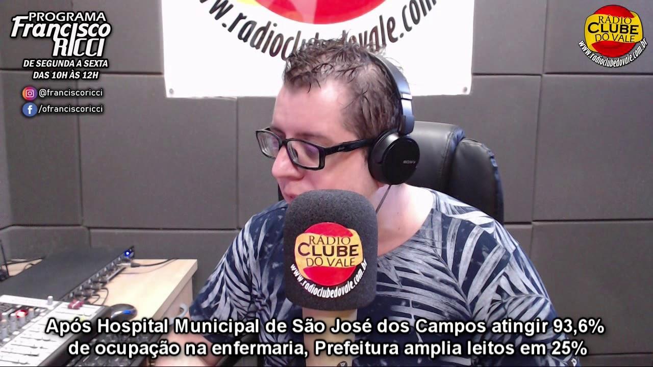 São José dos Campos amplia leitos, após Hospital Municipal atingir 93,6% de ocupação na enfermaria