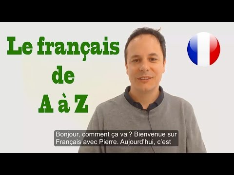 Learn French from A to Z