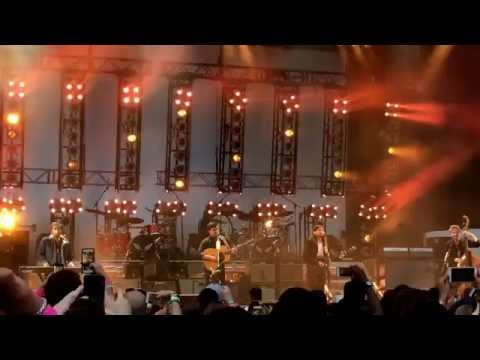 """""""Little Lion Man"""" - Mumford and Sons at Forest Hills Stadium Queens NY 6/16/16"""