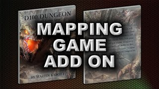 MAPPING GAME ADD ON (D100 DUNGEON)