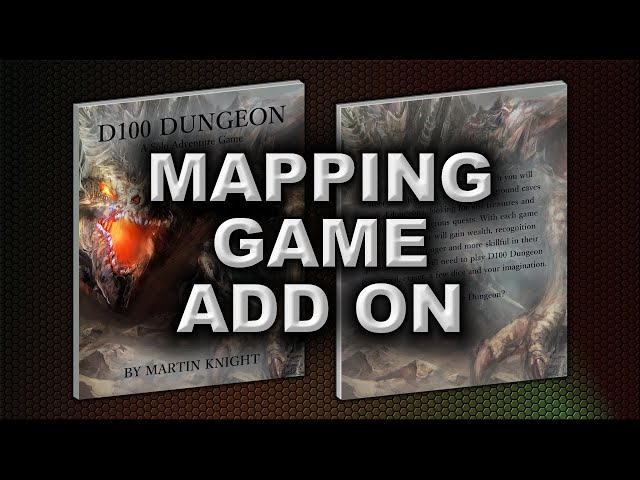 THE MAPPING GAME ADD-ON AND EXTRA GOLD PACK IS NOW AVAILABLE FROM THE GAME CRAFTER