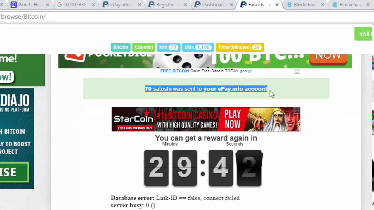 How to get free bitcoin online by using epay info rotator youtube how to get free bitcoin online by using epay info rotator ccuart Gallery