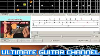 Download [Guitar Solo Tab] Sunday Morning (Maroon 5) Mp3