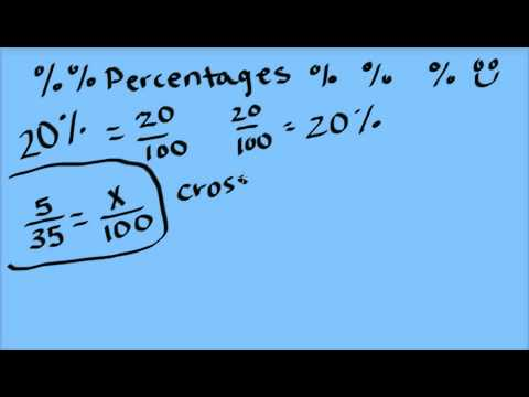 How to turn a fraction into a percentage youtube