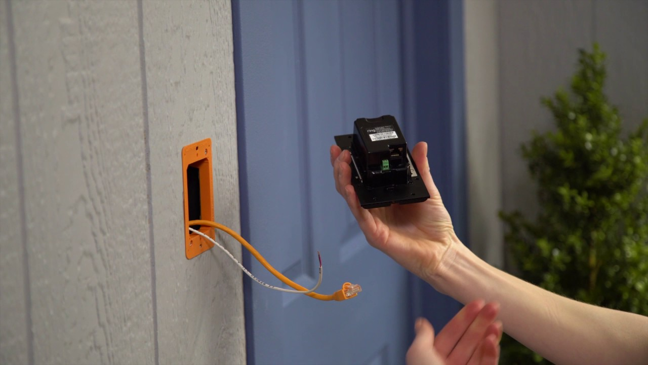 hight resolution of how to install ring video doorbell elite