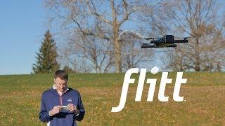 Hobbico Flitt Flying Pocket Size Camera w/Optical Flow Video