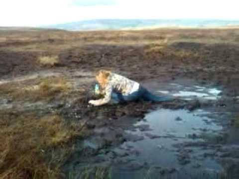 Fran falls in the mud  YouTube