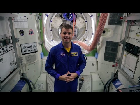 Astronaut Reid Wiseman Q & A on Living in Space | Video