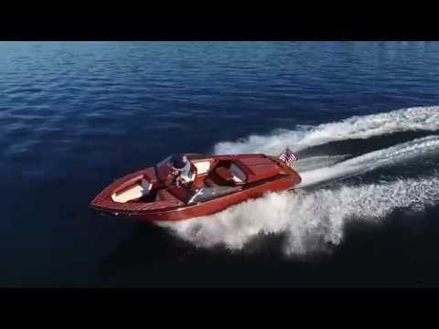 Coeur dAlene Custom Wood Boats - Coeur 270 Build