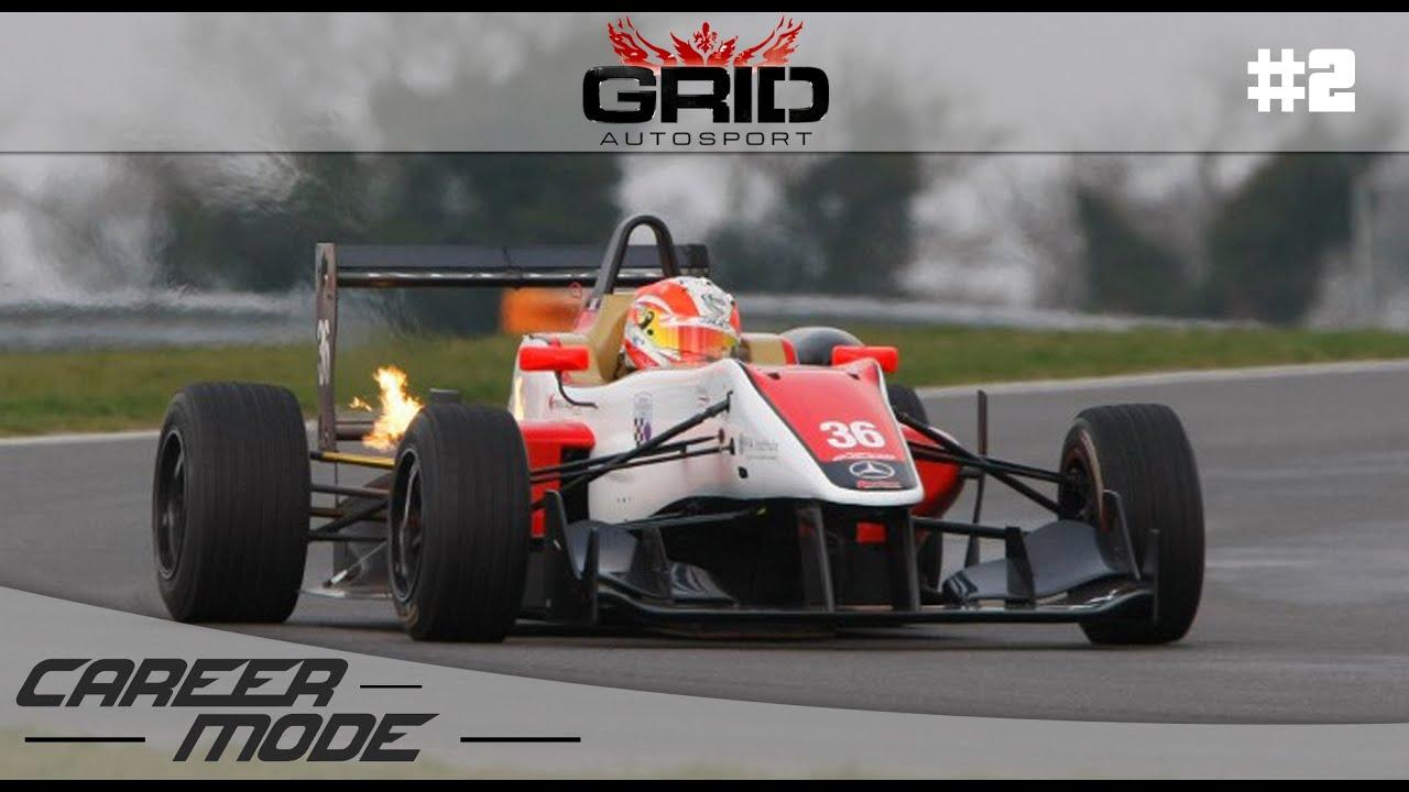 grid autosport gameplay career mode part 2 formula c. Black Bedroom Furniture Sets. Home Design Ideas