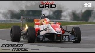GRID Autosport Gameplay Career Mode - Part 2 Formula C Carnage! PC Gameplay Walkthrough