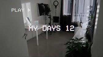 MY DAYS 12: MEIKKIHUONE JA STUDIO TOUR  | Henry Harjusola