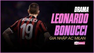 DRAMA LEONARDO BONUCCI hục hặc rời Juventus và GIA NHẬP AC MILAN vào mùa hè 2017