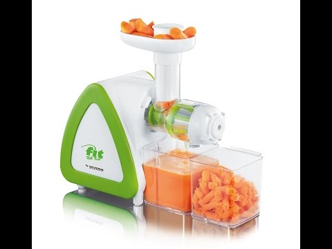 SLOW JUICER TEST - Bester Billig Ensafter? - Severin ES 3568