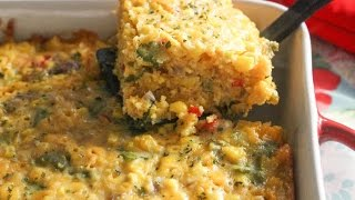 Tex Mex Corn Casserole - I Heart Recipes