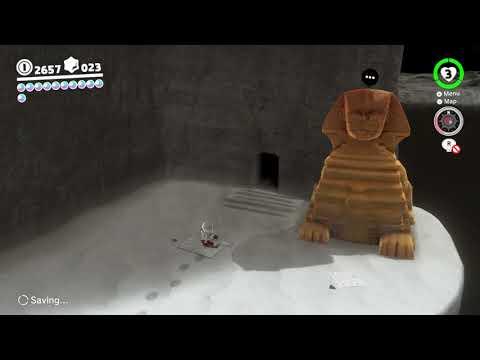 Super Mario Odyssey - Moon Kingdom Moon #24: Sphynx's Hidden Vault