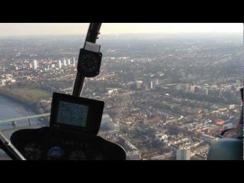 Landing at The London Heliport