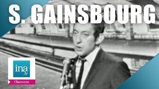"""Serge Gainsbourg """"Le poinçonneur des Lilas"""" (live officiel)   Archive INA"""