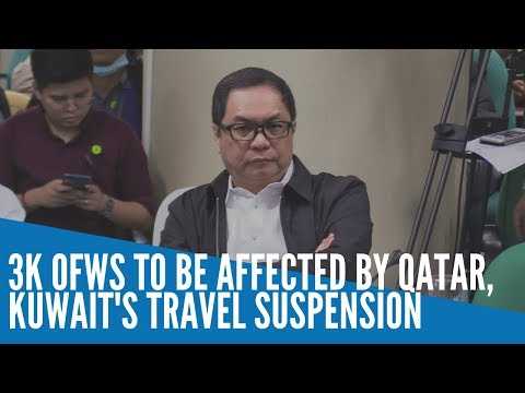 Qatar, Kuwait Travel Limits Due To Coronavirus To Affect 3,000 OFWs – POEA