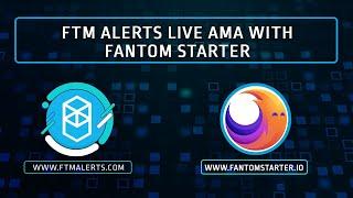 FTM Alerts live AMA with Fantom Starter! screenshot 3