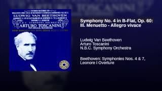 Symphony No. 4 in B-Flat, Op. 60: III. Menuetto - Allegro vivace