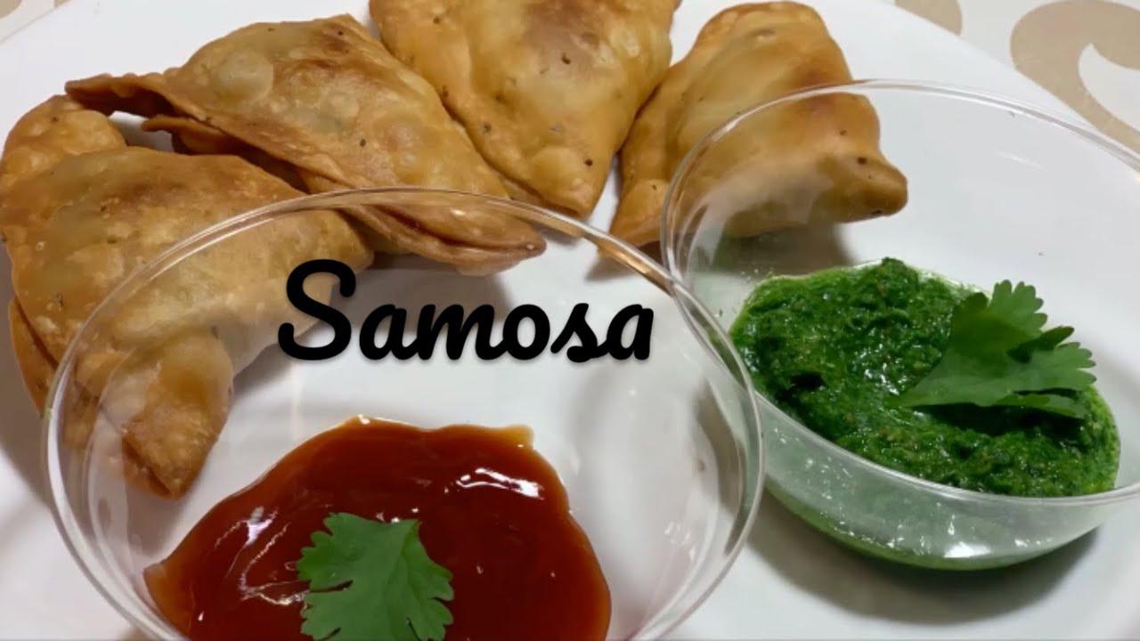 बाजार जैसे खस्ते समोसे घर पर बनाये (SAMOSA)