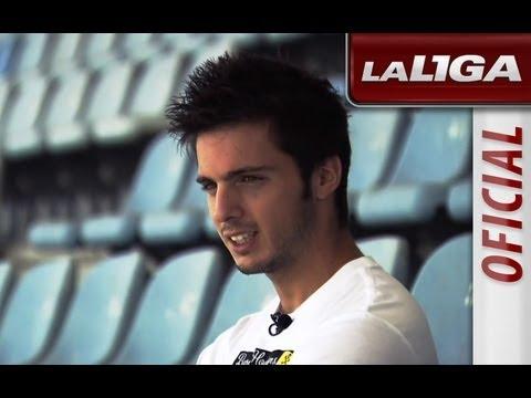 Test a Pablo Sarabia, jugador del Getafe CF - HD thumbnail