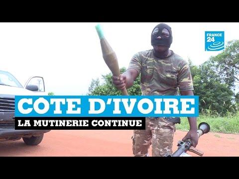 Côte d'Ivoire : la mutinerie continue