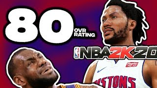 5 MOST Disrespectful RATINGS In NBA 2K20