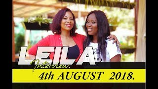 I AM NOT TAKEN BUT, I AM HAPPY. LEILA KAYONDO ON CELEB SELECT [ 4th AUGUST 2018 ]