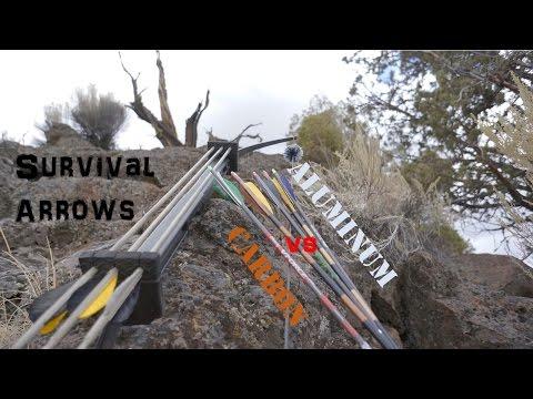 Survival Arrow Factors, Aluminum Vs Carbon