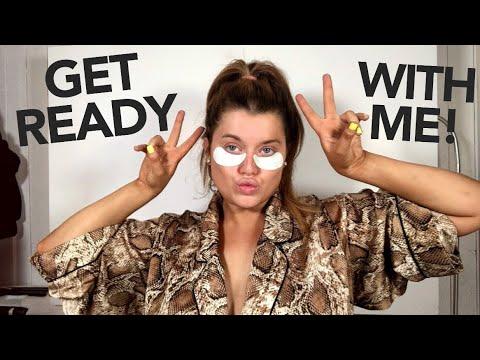GRWM (VLOG!!!) LETS CHAT & GET GLAM! | Rachel Leary thumbnail