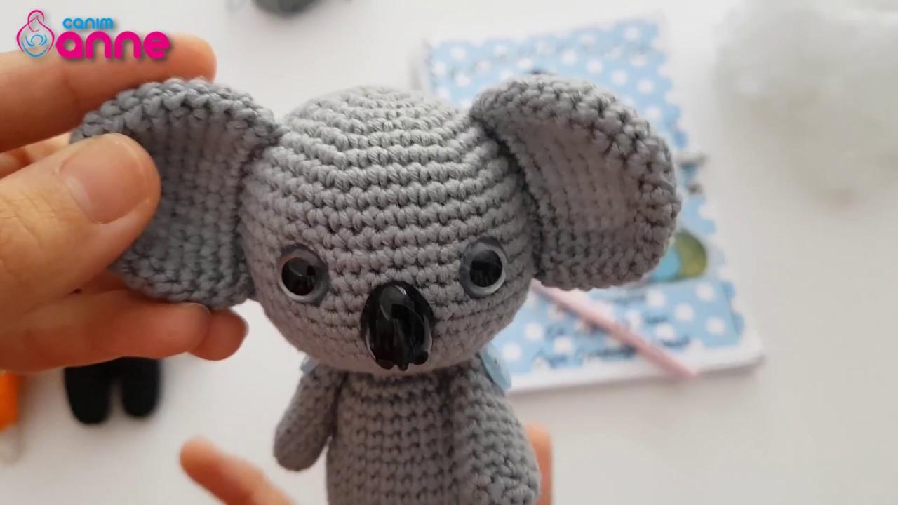 Amigurumi Koala Crochet Pattern | Supergurumi | 720x1280