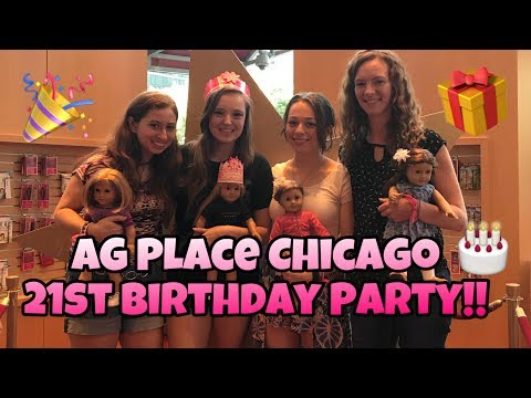 I spent my 21st birthday at American Girl Place Chicago?!?