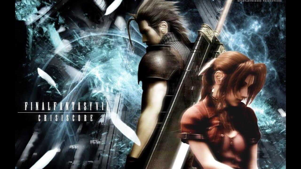 Zack and Aerith Love Story (Aeris) Crisis Core: Final ...
