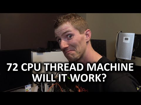 36 Cores, 72 Threads, and Two Titan Xs - Our New INSANE Rendering Machine Part 2