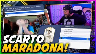 SCARTO MARADONA?! 😱/ SEARCH AND DISCARD CON J0K3R!