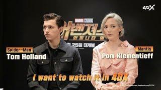 Avengers: Infinity War in 4DX | Tom Holland & Pom Klementieff