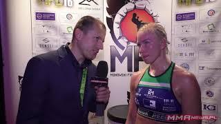 MFC 16: Emilia Czerwińska jednogłośnie pokonała Terezę Dvorakovą