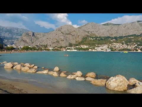 Omis - Croatia's jewel, the old pirate town, two forts, sandy beaches, the river and the sea
