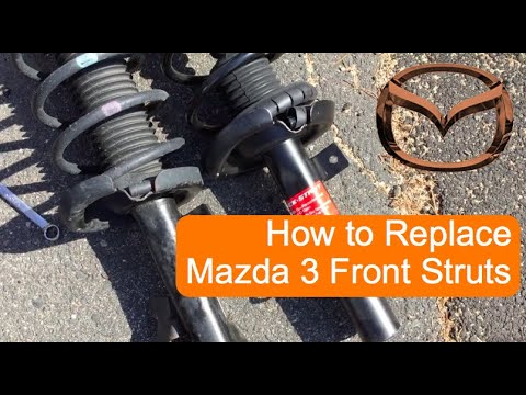 [HD 1080p] How To Replace Mazda 3 Front Struts 04-13